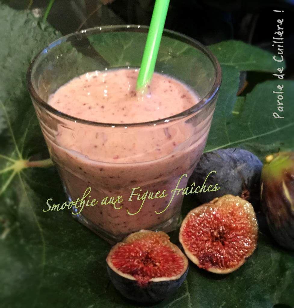 Smoothie aux figues fraîches