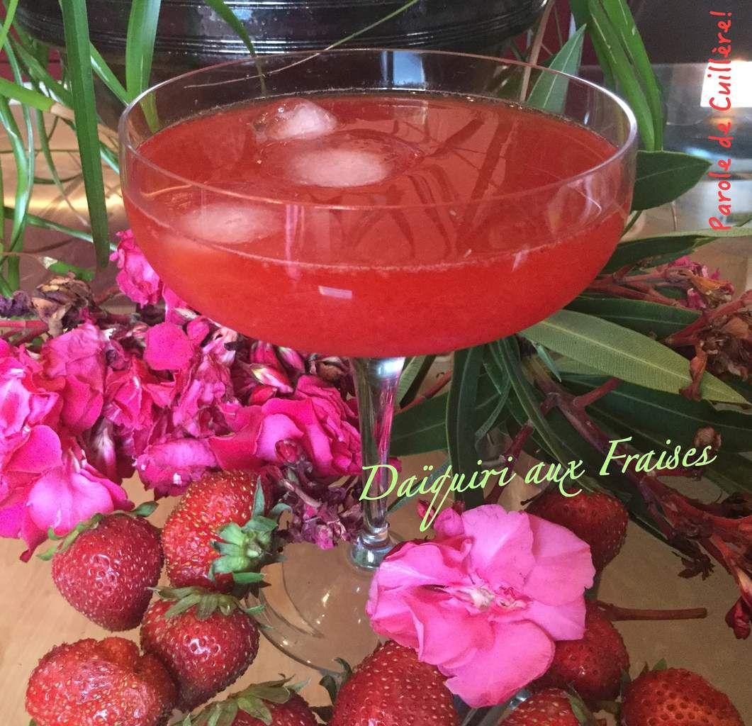 Daïquiri aux fraises