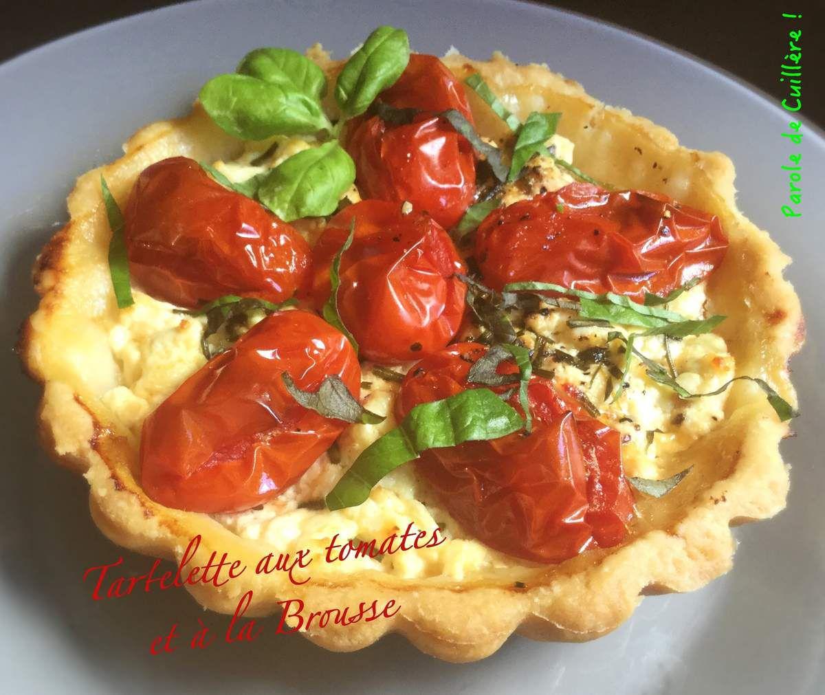 Tartelettes aux tomates et à la brousse