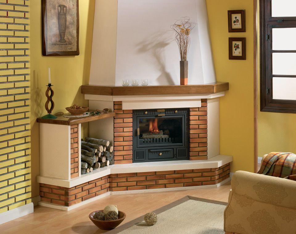 Ideas de decoración con chimenea - Muebles Baratos Online