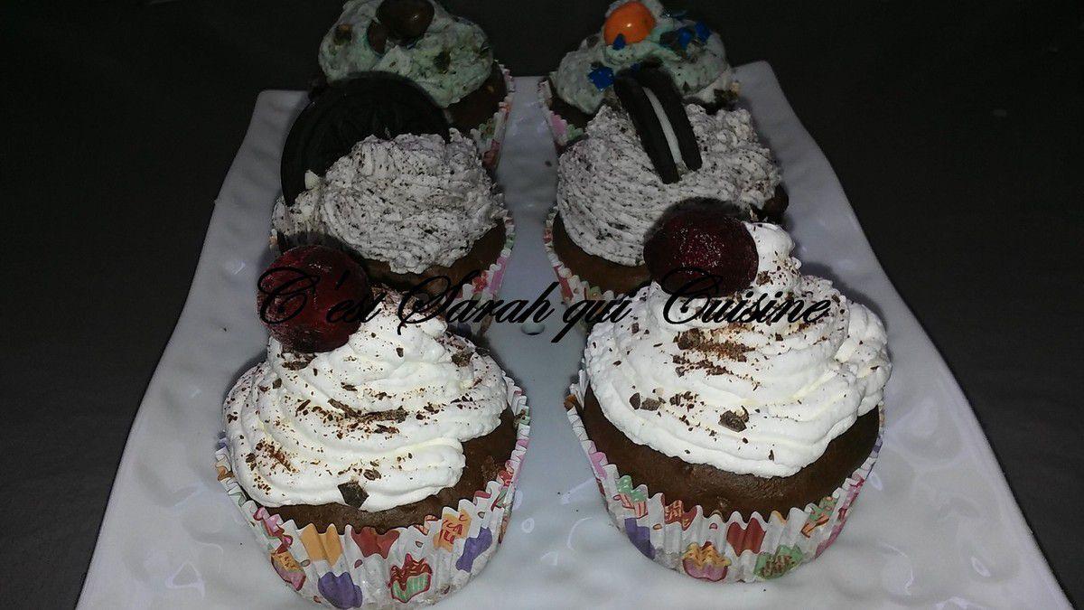 Divers Cupcakes très gourmands...