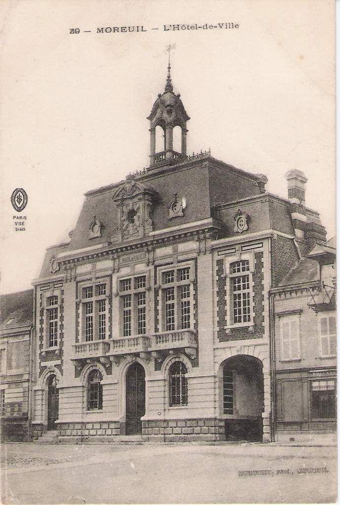 L'Hôtel de ville de Moreuil