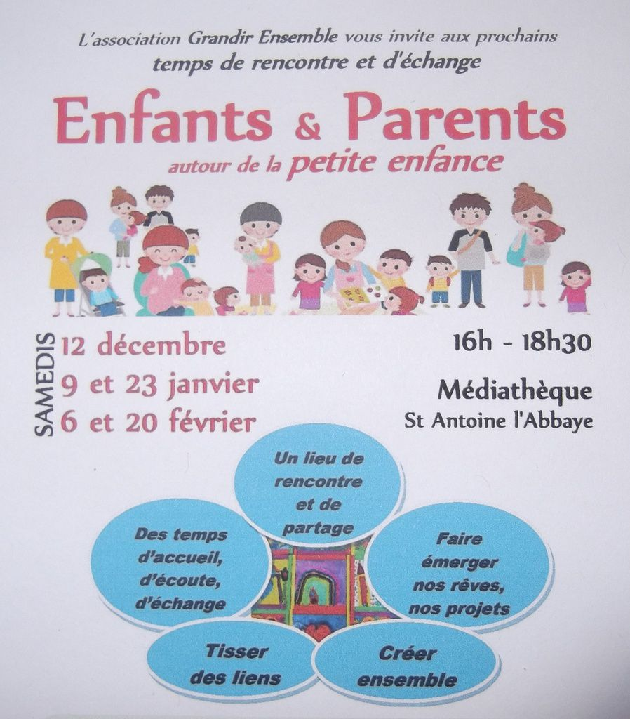 Prochains temps enfants & parents