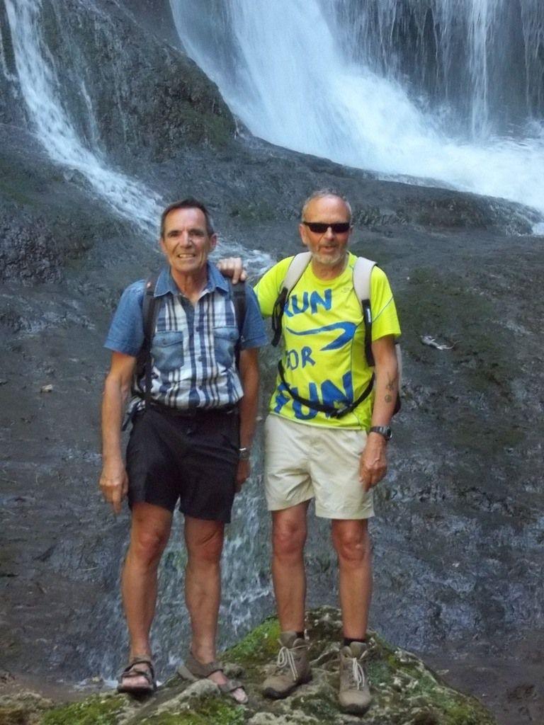 Canal des moines,cascade d'Autoir, pique nique de Loubressac