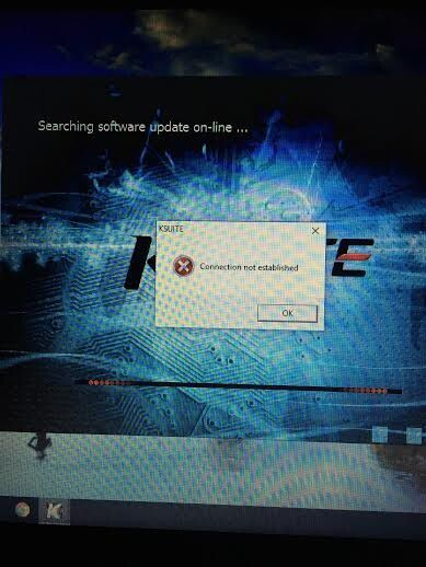 """KESS V2 4.036 """"Connection not established"""""""