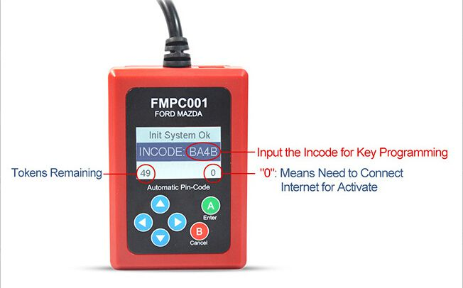 V1.7 FMPC001 Ford incode calculator update guide
