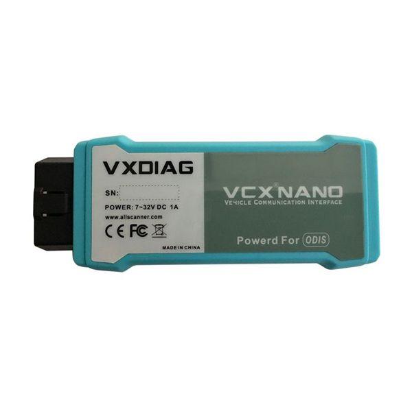 VXDIAG VCX NANO 5054 ODIS 3.0.3 for Windows 7
