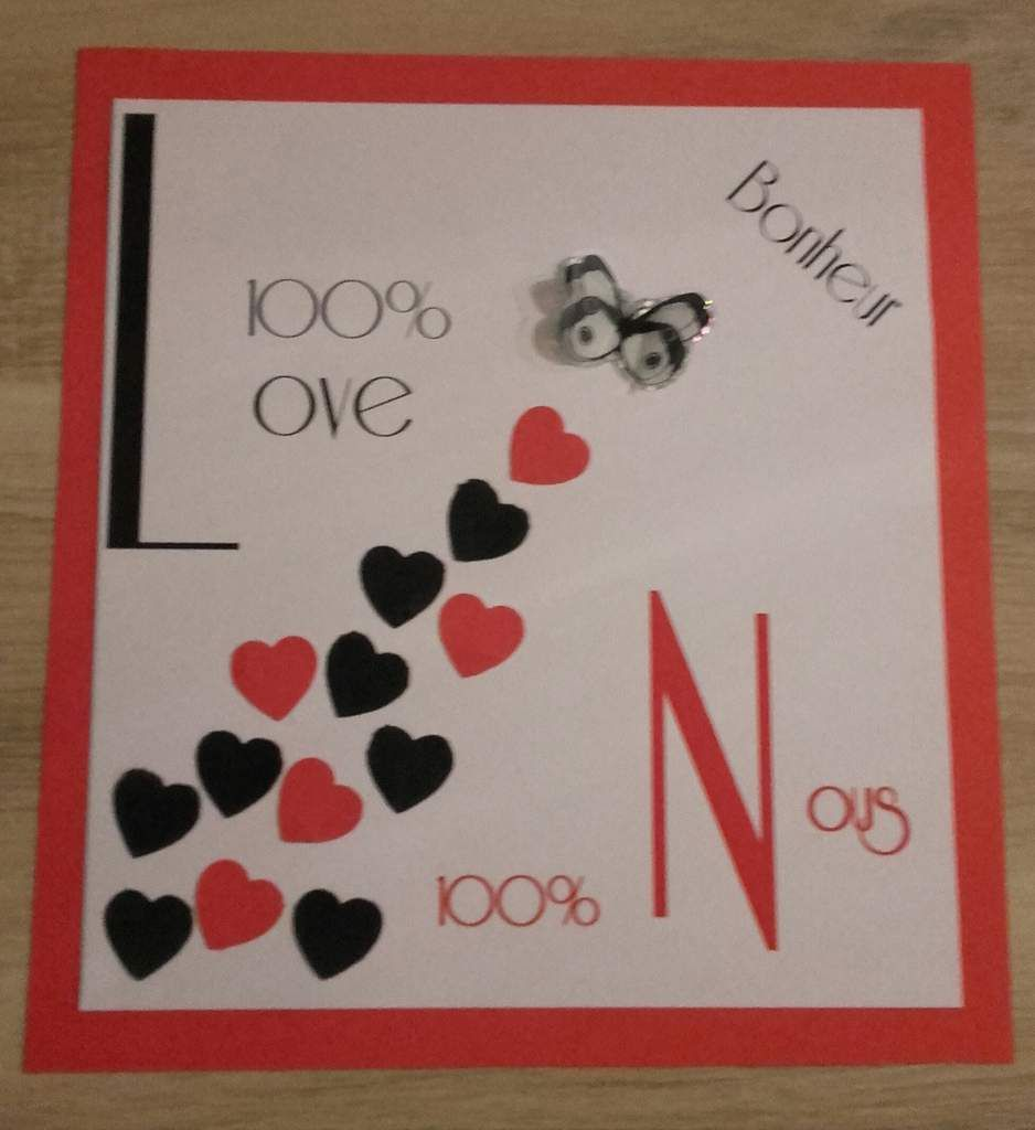 Carte love ST Valentin