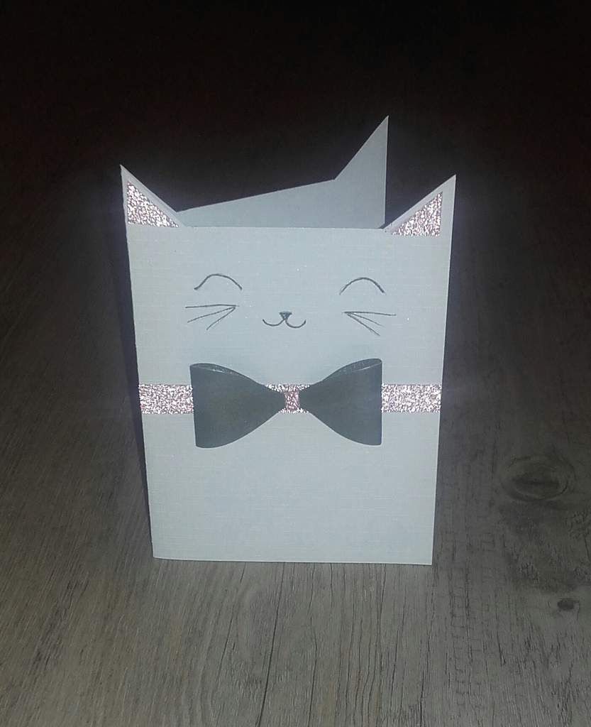 Carte petit chat