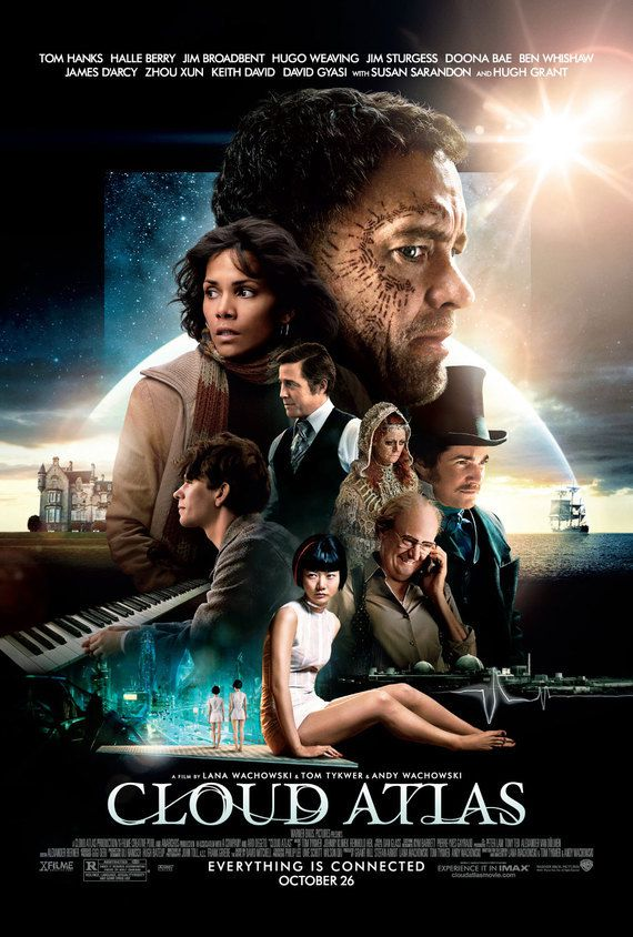 Affiche du film, Cloud Atlas.
