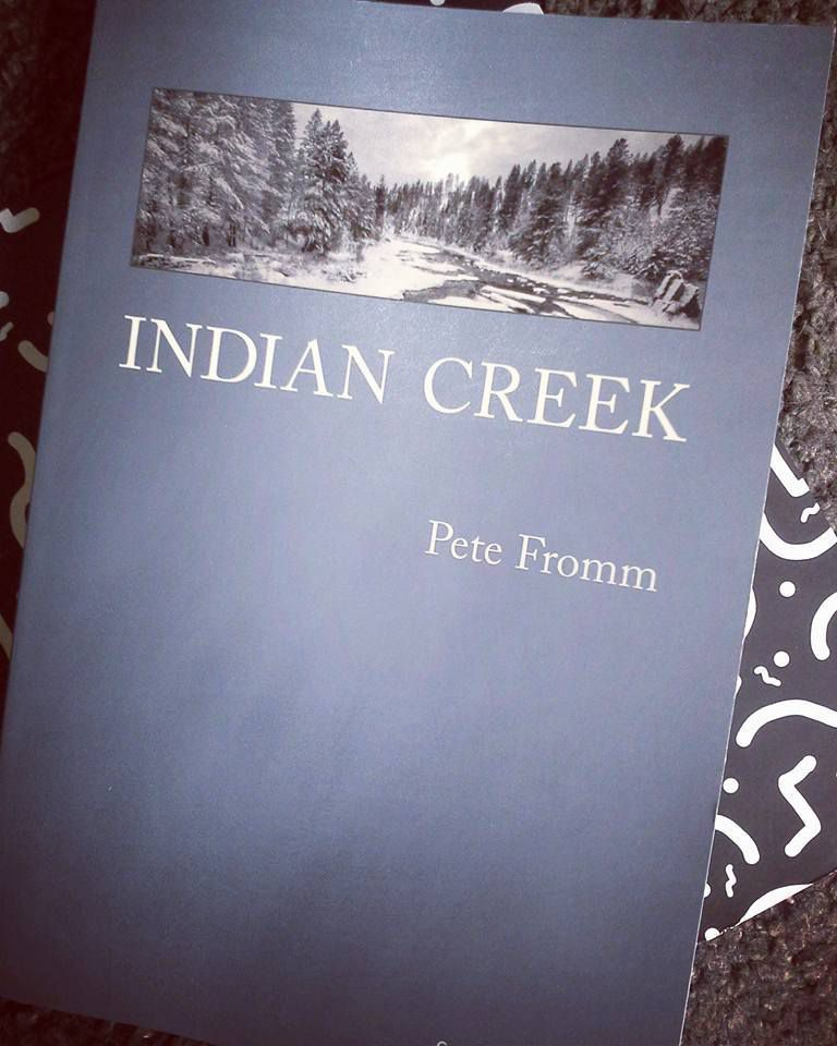 Couverture Indian Creek, Pete Fromm, édition Gallmeister.