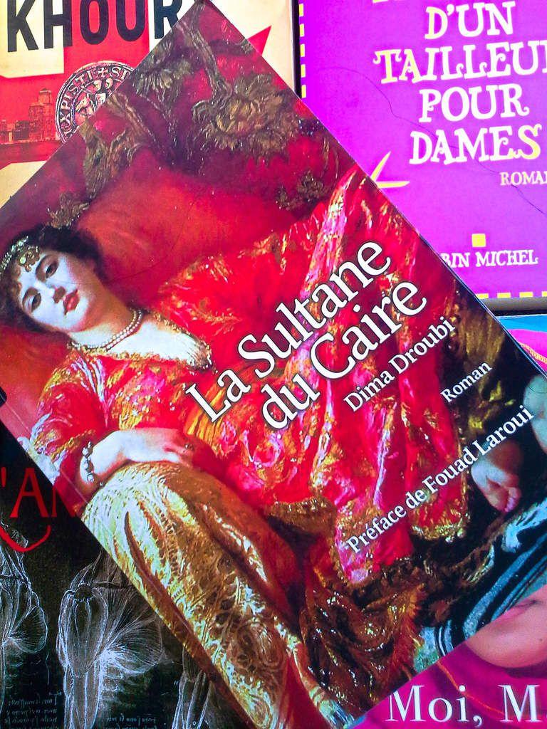 Couverture, La sultane du Caire, Dima Droubi, éditions Zellige.