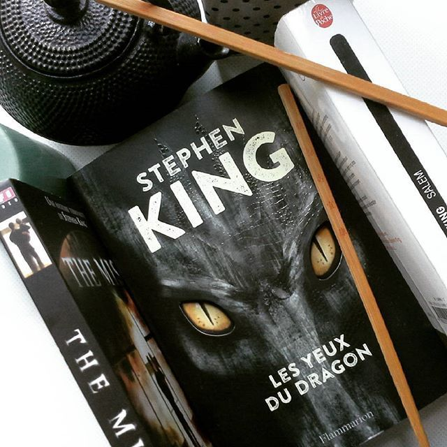 Les yeux du dragon, Stephen King, éditions Flammarion.