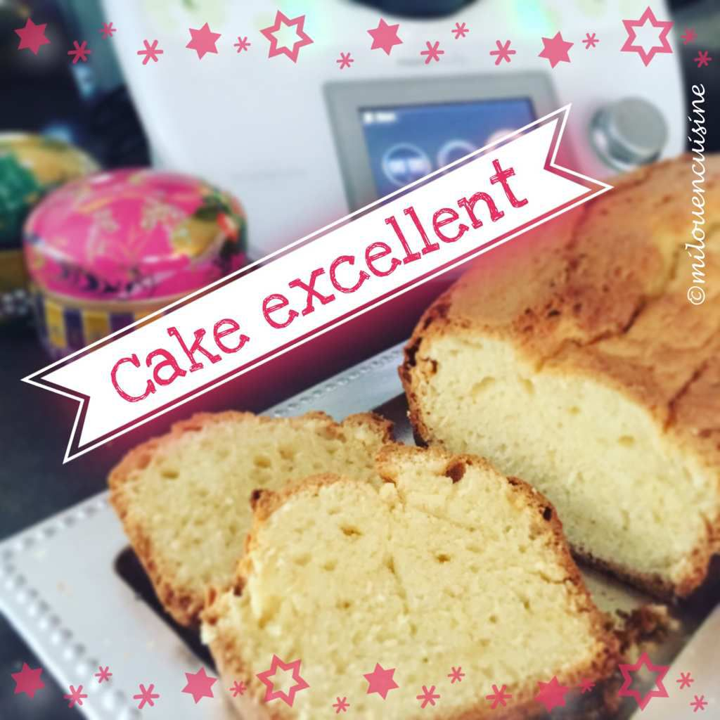 Cake moelleux thermomix