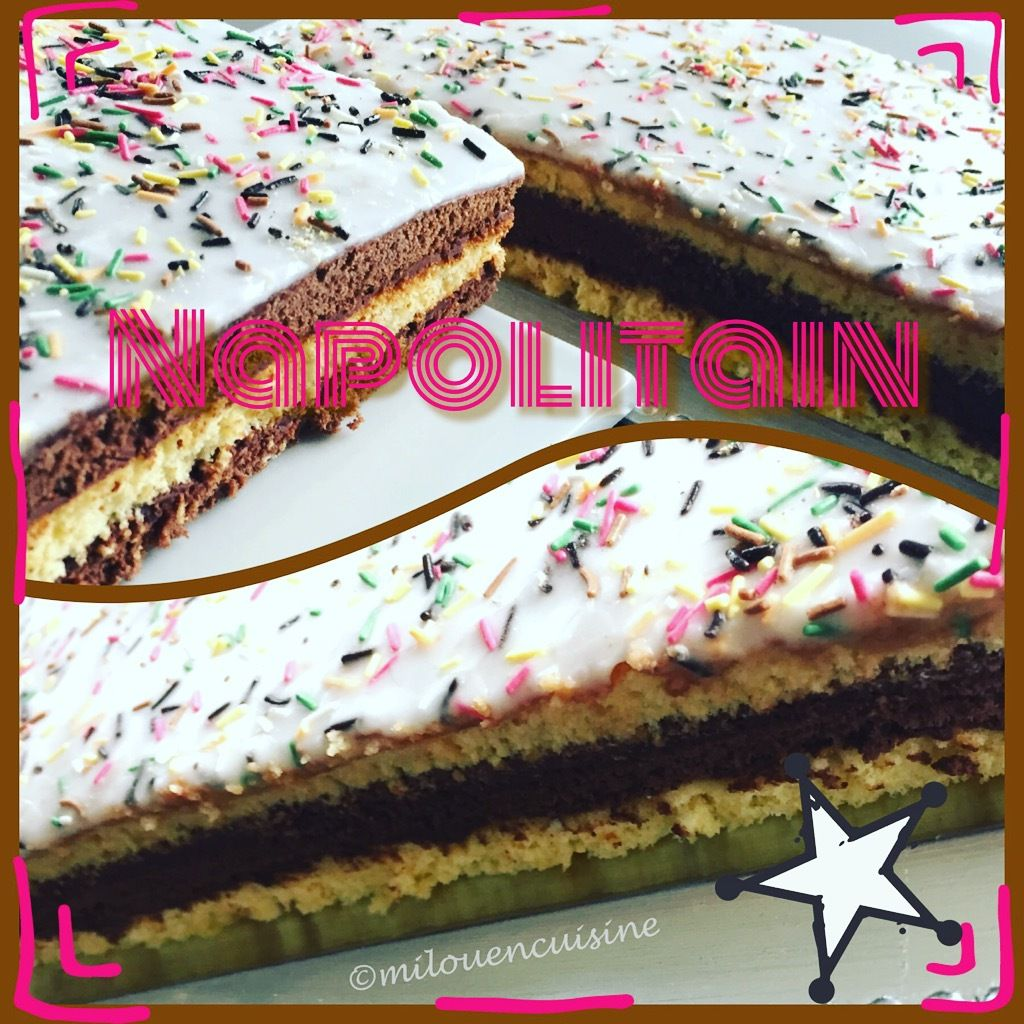 Napolitain gâteau thermomix