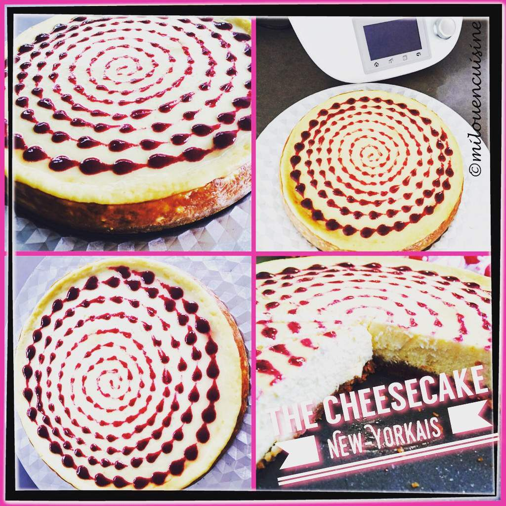 cheesecake pâtisserie thermomix