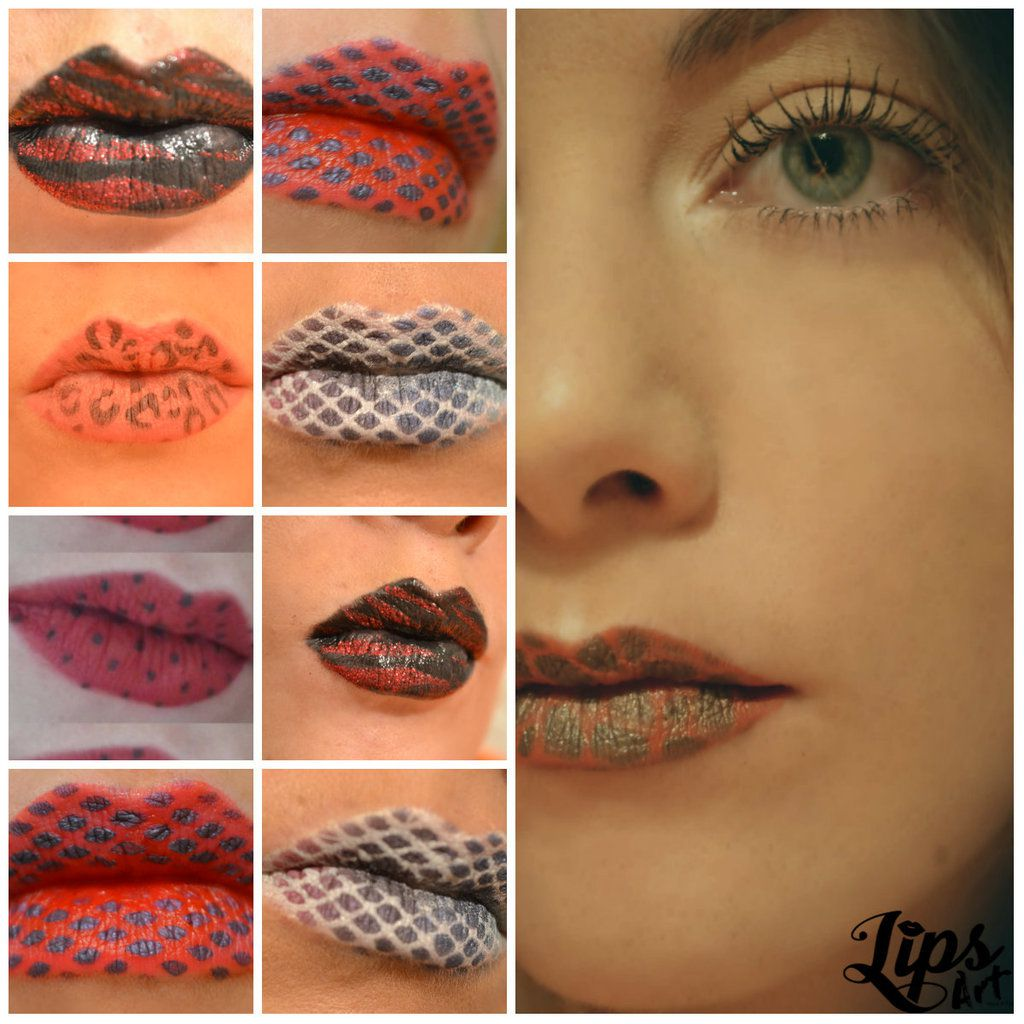 Lip Art Facile Avec Le Pochoir Lips Art Easy Lip Art With Lips Art Stencil Lip Art By Lips Art