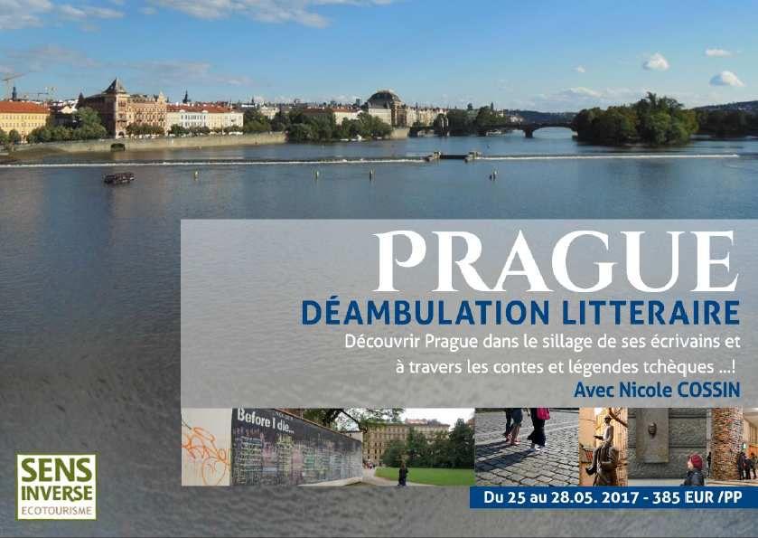 Déambulation littéraire à Prague - Voyage organisé par www.sensinverse.com