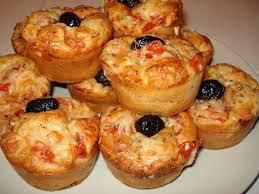 Muffins salés genre minis pizzas!