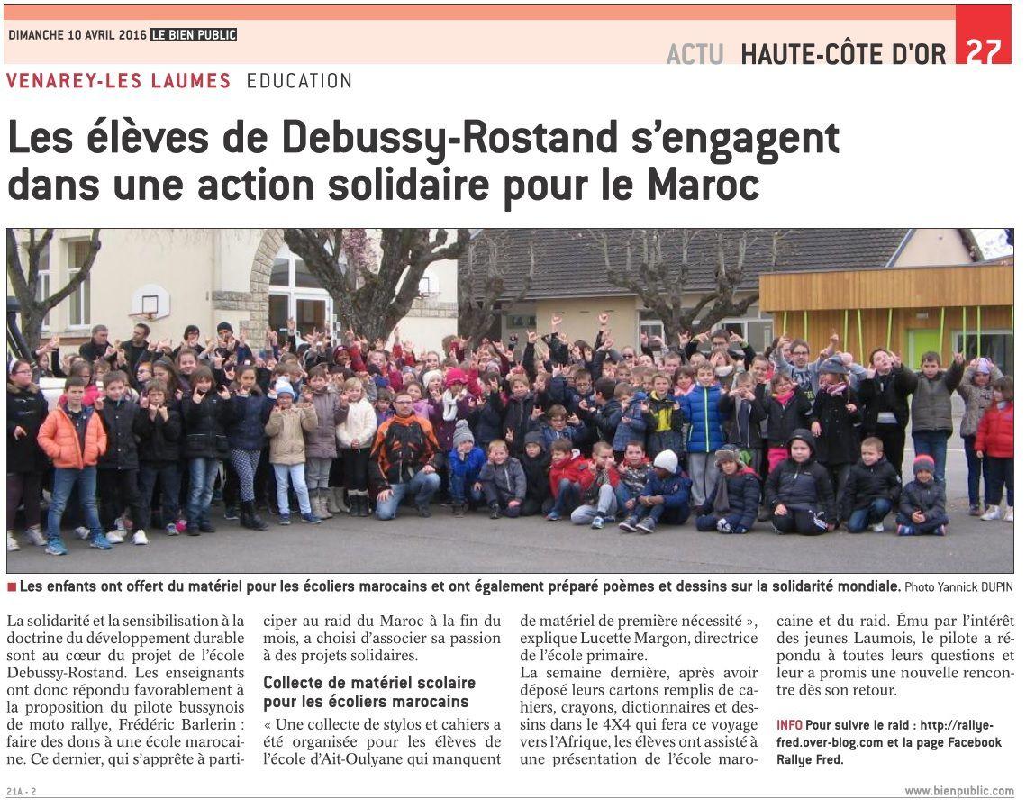 Rallye-Fred vu par la presse