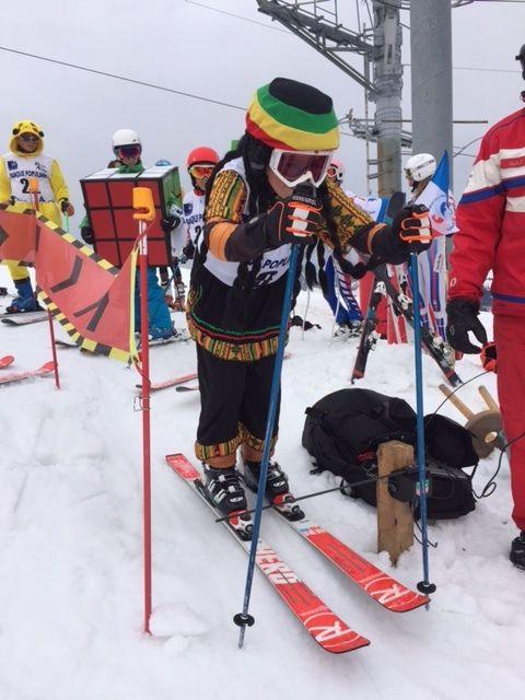 Les licenciés (et les parents) du Ski Club ont joué le jeu...