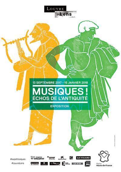 Les musiques, échos de l'Antiquité au programme de la nouvelle exposition temporaire du Louvre-Lens