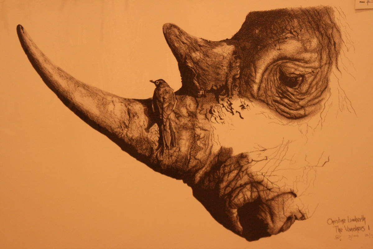 Quelques jolies oeuvres d'art sud africaine à Clarens.