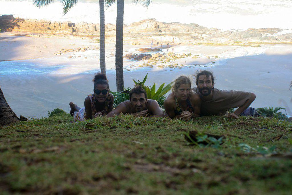 Brésil, Bahia, Itacare, Bananeira Azul....