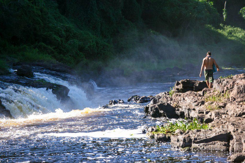 Au bord du rio das contras...