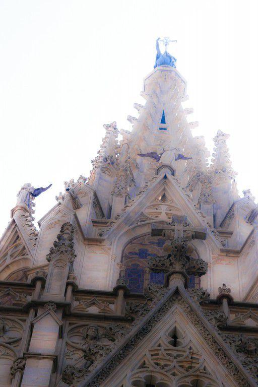 Cathédrale Sainte-Croix de Barcelone.