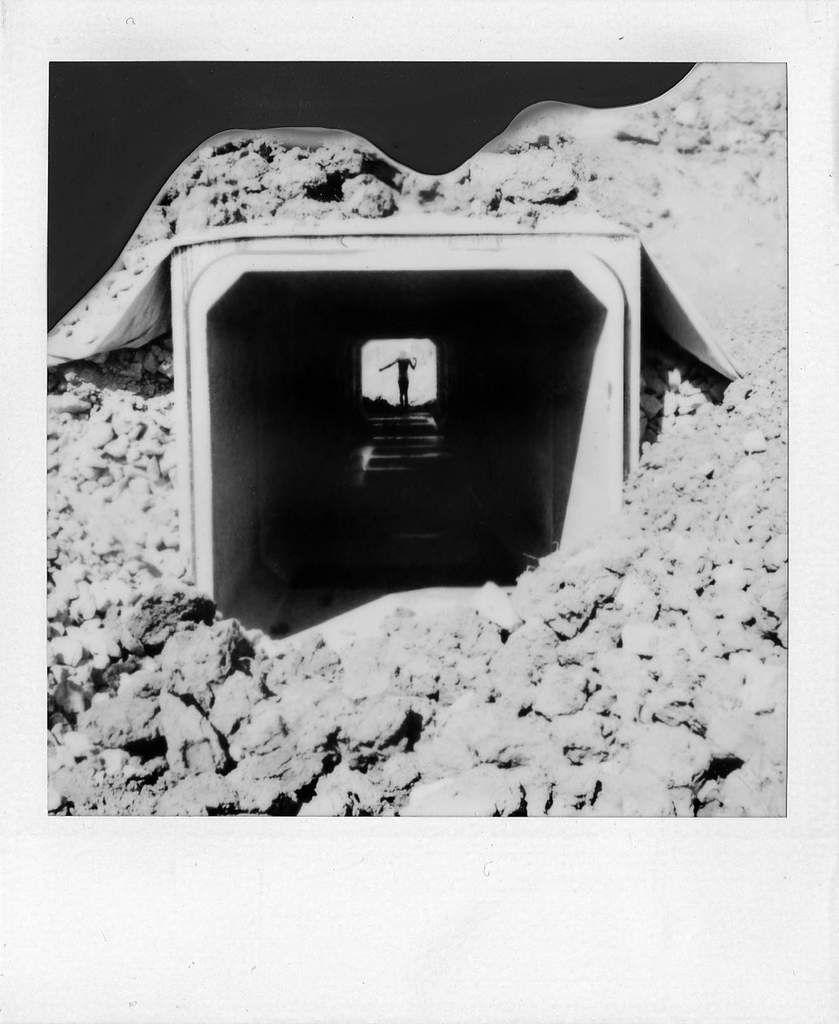 polaroids: black and white