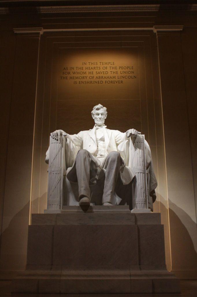 Lincoln Memorial et la Reflecting Pool !