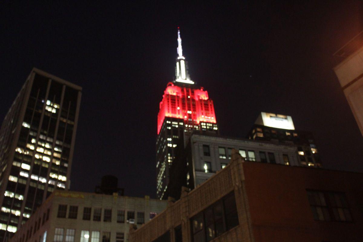 Une soirée à New York...