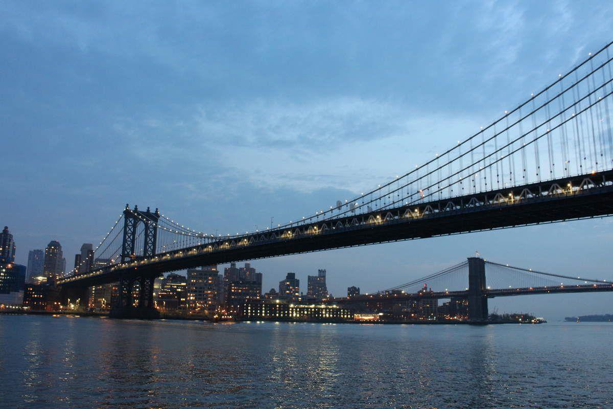 New-York : Promenade au bord de l'eau...