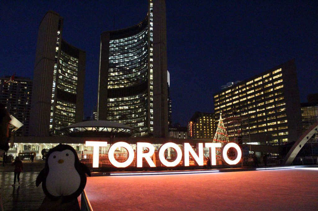 Le Pingouin à Toronto !!