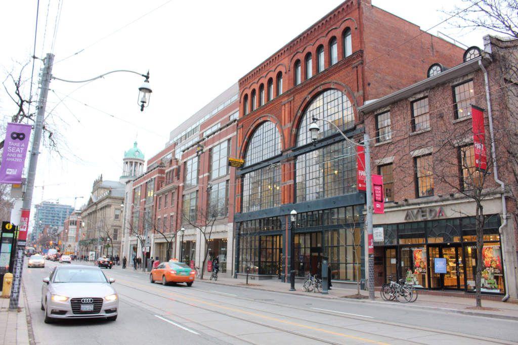 Toronto : Financial district, Downtown, les quais...
