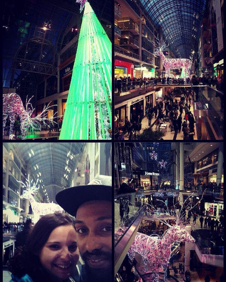 Toronto : Esprit de Noël, Cavalcade of lights...