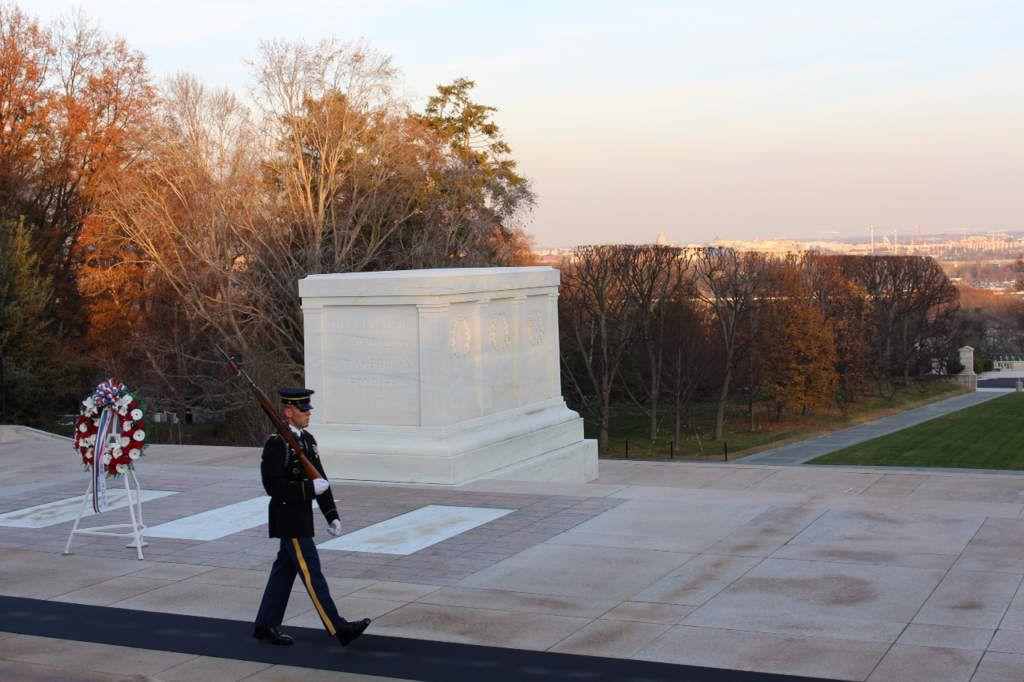 Washington : le cimetière d'Arlington
