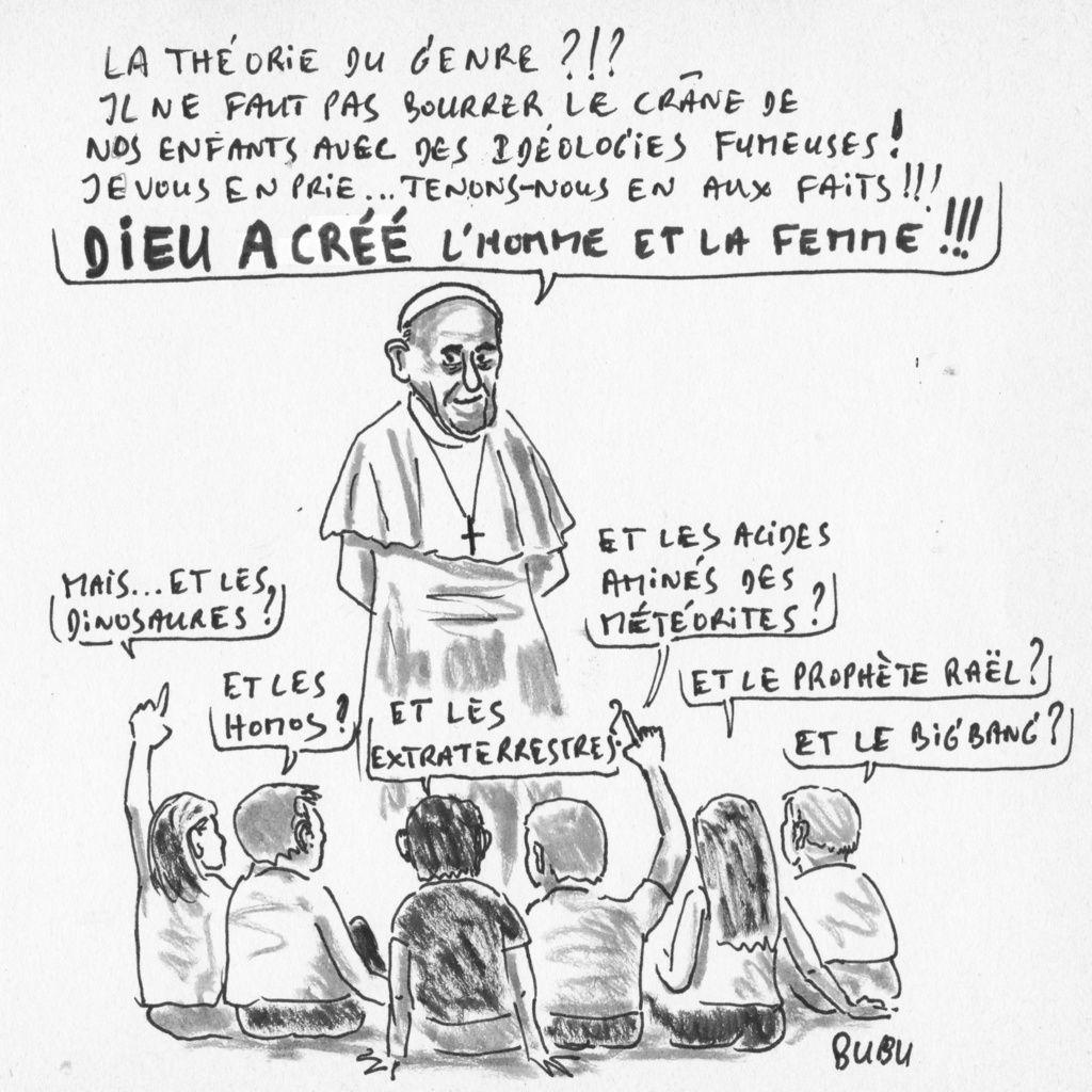 Théorie du genre. Le pape dénonce une « colonisation idéologique »  !