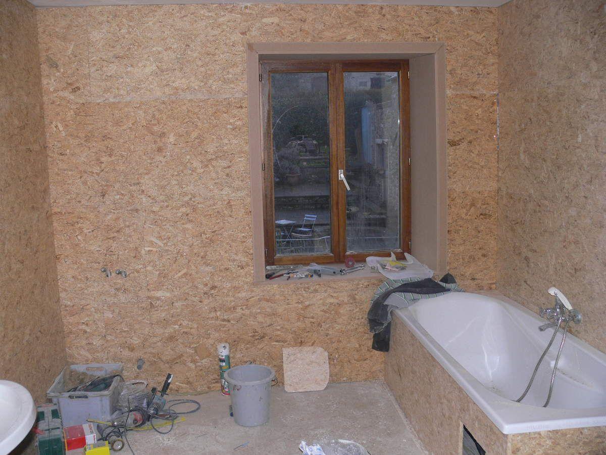 Salle de bain renovation maison pierre 1900 - Moisissure plafond salle de bain ...
