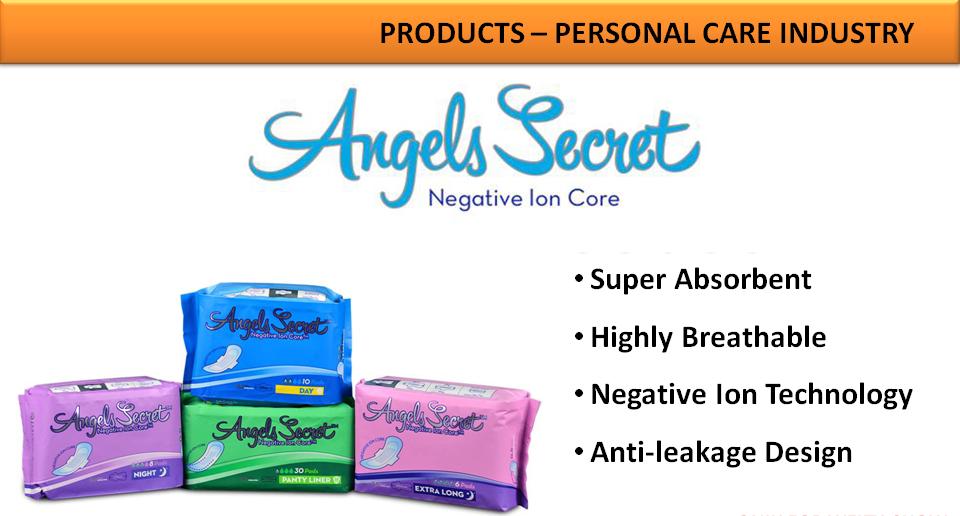 La gamme de Serviettes Hygiéniques Médicales Angels Secret de JMOA