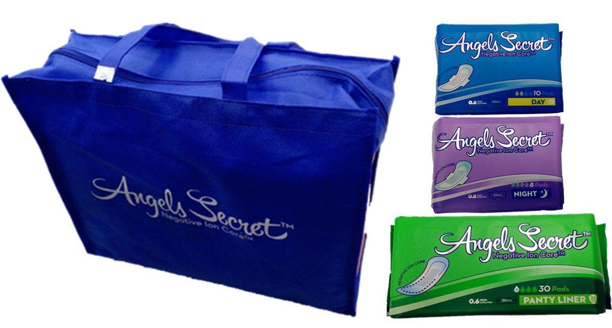 Angels Secret la meilleure serviette hygiénique que le monde connaisse actuellement