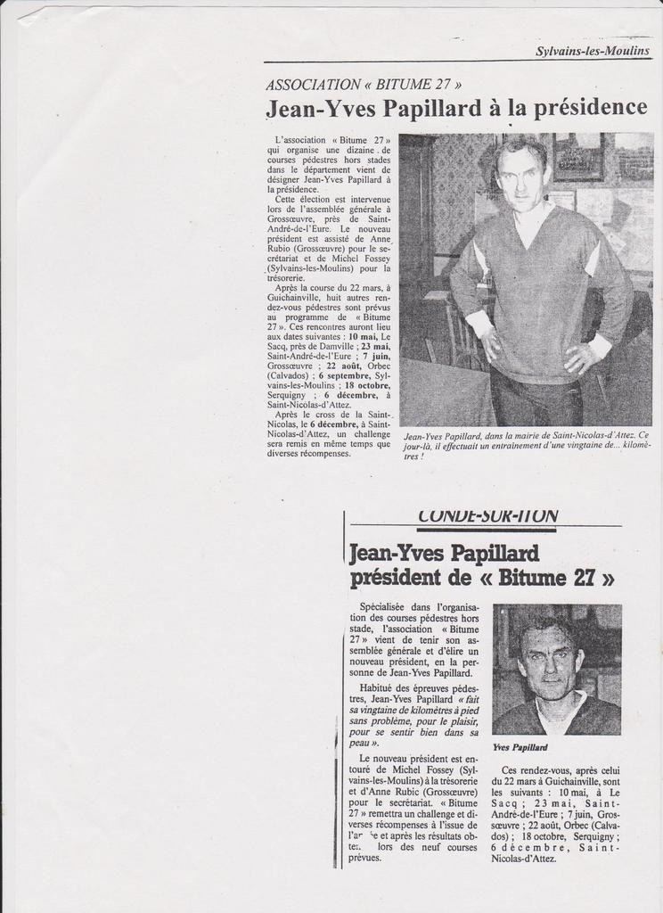 Un autre article de presse, dont je n'ai pas l'origine.