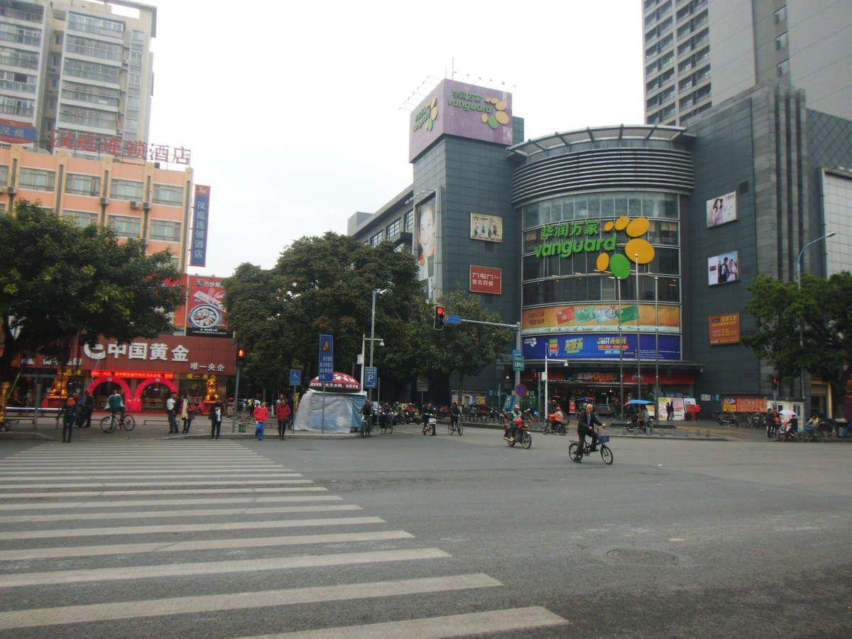 D'une escale à un transit en Chine, il n'y a que quelques heures....