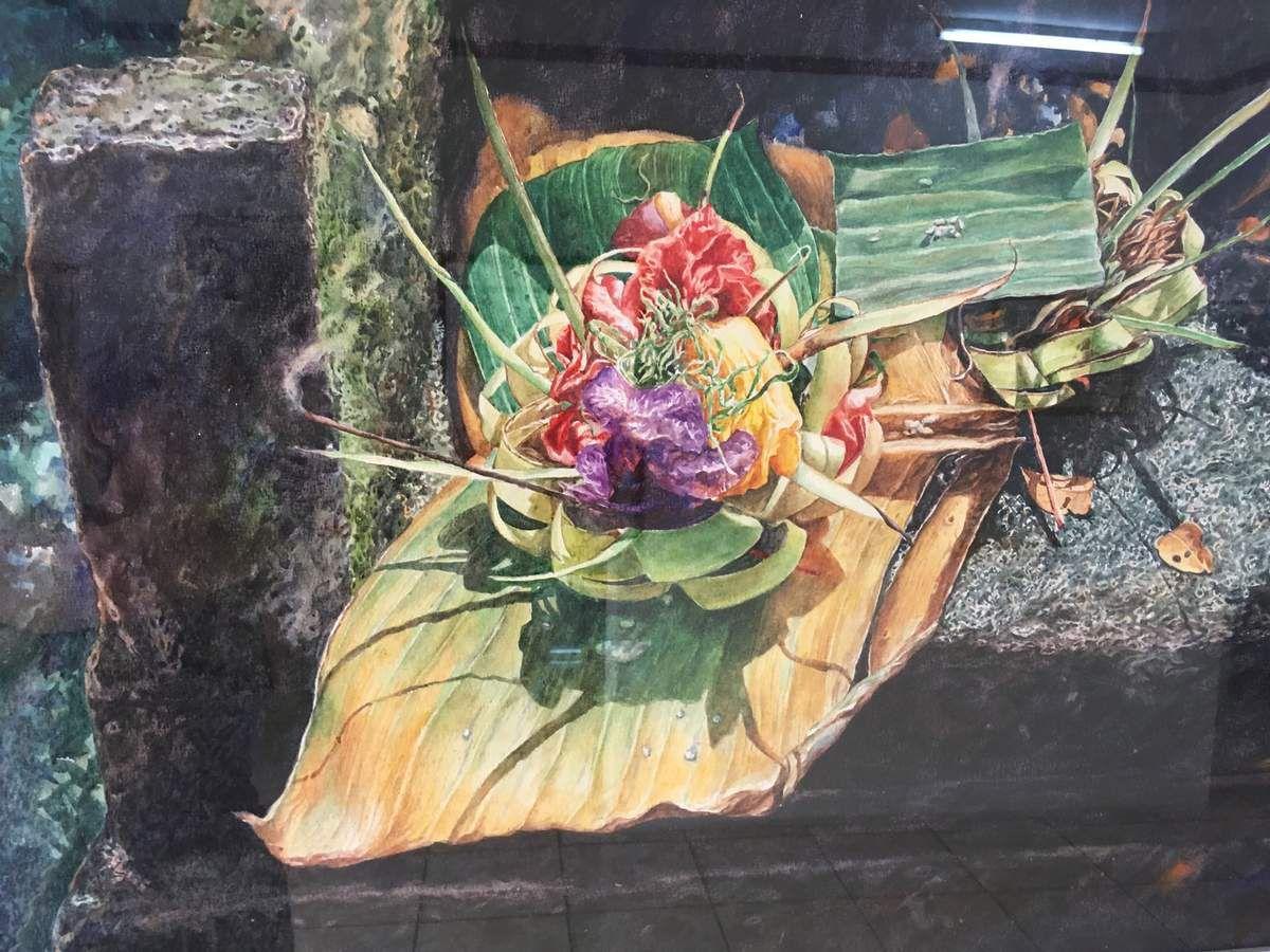 Belles peintures balinaises