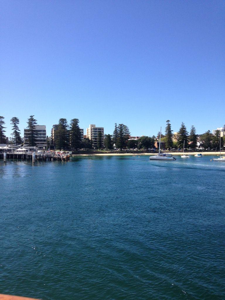 MANLY, plage très prisée de Sydney.