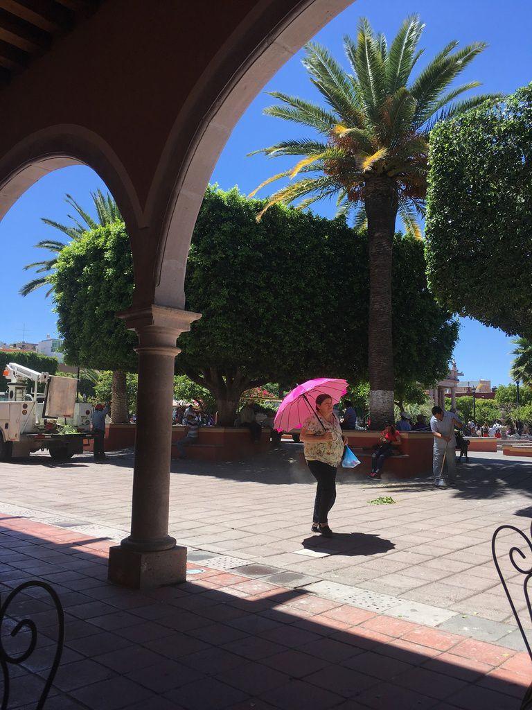CALVILLO, petite ville charmante où nous avons fait une halte pour déjeuner.