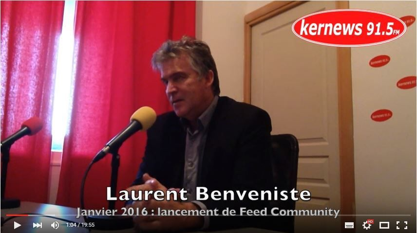 Laurent BENVENISTE : lancement de FEED COMMUNITY la Baule - Loire Atlantique (44) FRANCE