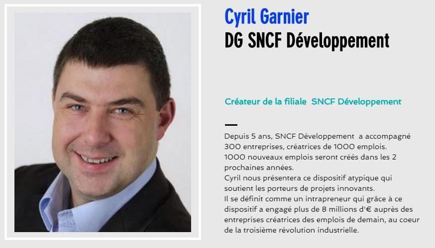 Cyril GARNIER, Directeur Général SNCF Developpement