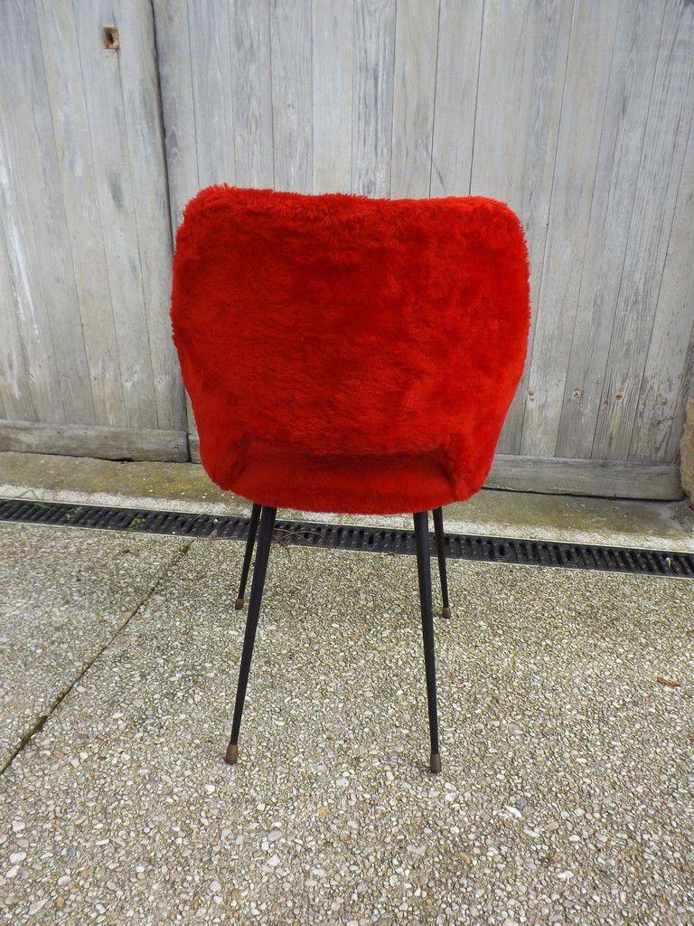 Chaise moumoute ann es 70 vendue je vintage for Chaise annee 90